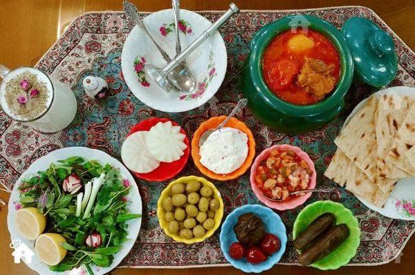 غذا های لازم در خانه شیعه