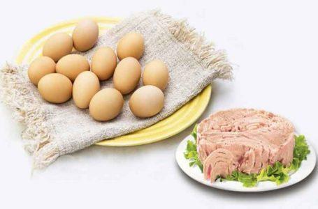 گوشت با تخم مرغ